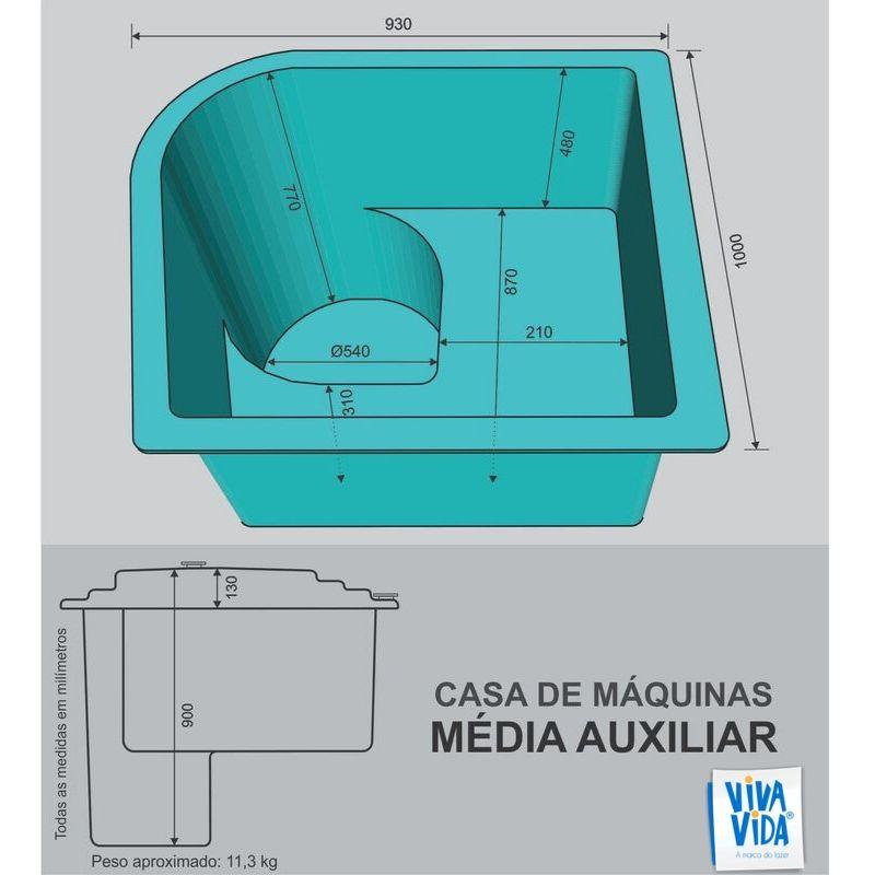 Casa de Máquinas CM Média Auxiliar