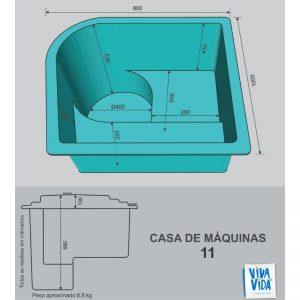 Casas de Máquina CM 11