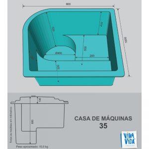 Casas de Máquina CM 35