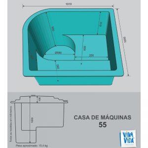 Casas de Máquina CM 55