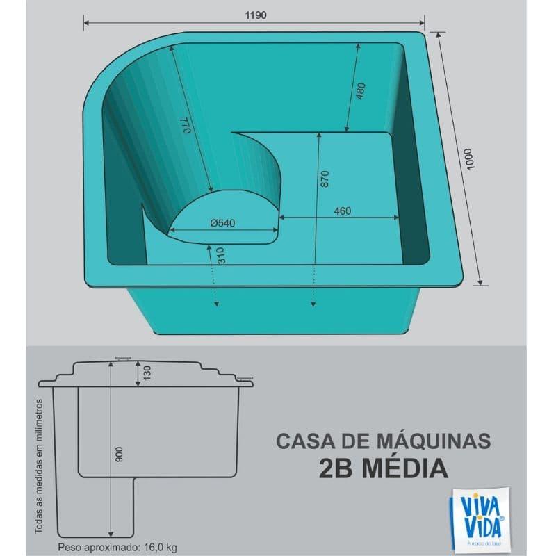 Casa de Máquinas CM 2B Média